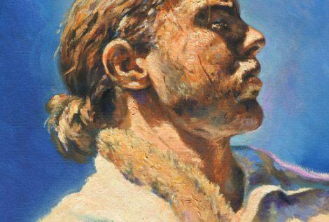 autoportrait huile
