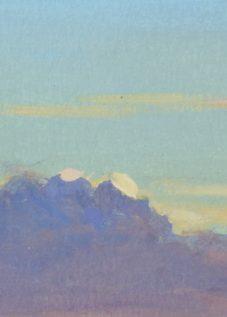 peinture nuages